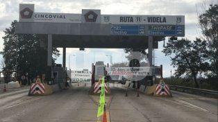Garibaldi aseguró que la ruta nacional 11 está en estado de abandono.