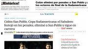 Las repercusiones en los medios nacionales tras la clasificación de Colón