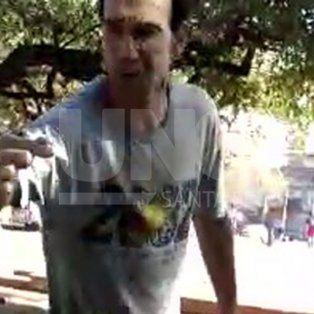 video: militantes del mst fueron agredidas nuevamente en otra plaza santafesina