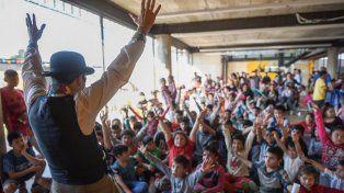 El viernes hubo actividades en el edificio Nido–Escuelas de Trabajo de Barranquitas Sur.