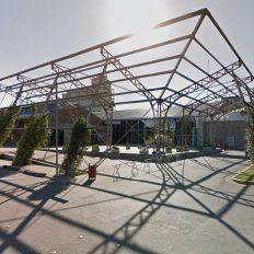 Un adolescente resultó herido frente al shopping La Ribera