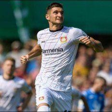 Alario le dio el triunfo al Leverkusen en la Copa de Alemania