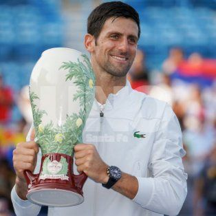 novak djokovic, campeon en cincinnati
