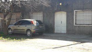 La vivienda baleada en Alberti al 5300