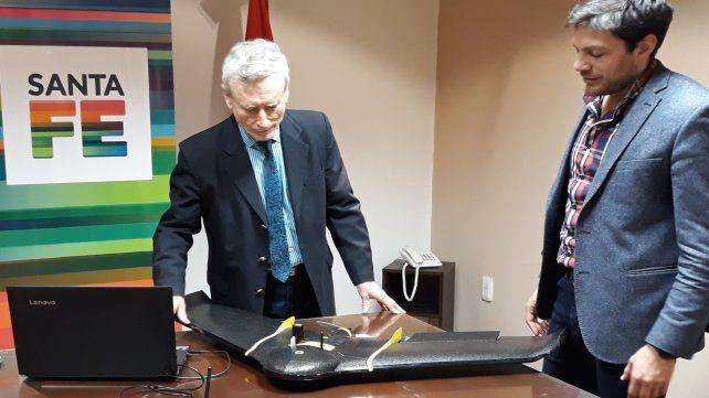 El Servicio de Catastro e Información Territorial adquirió un drone profesional