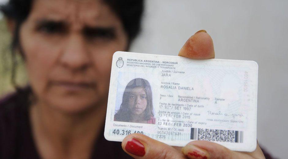 Liliana es la mamá de Rosalía Jara. CRÉDITOS: José Busiemi/UNO Santa Fe.
