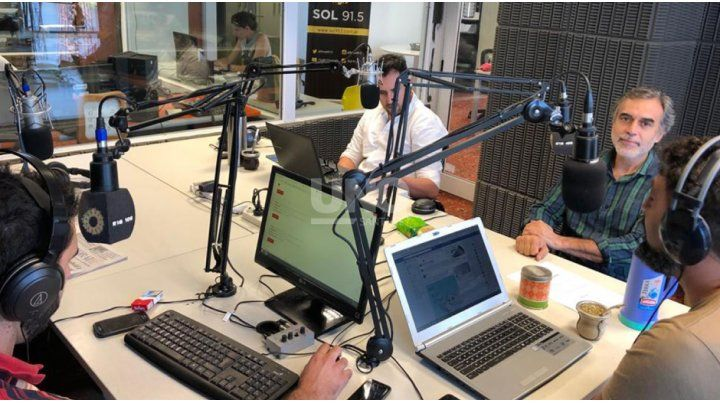 Miguel Gonzalez en UNO en la Radio (2)