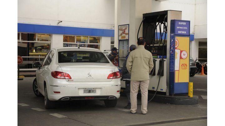 estacion de servicio aumento de nafta