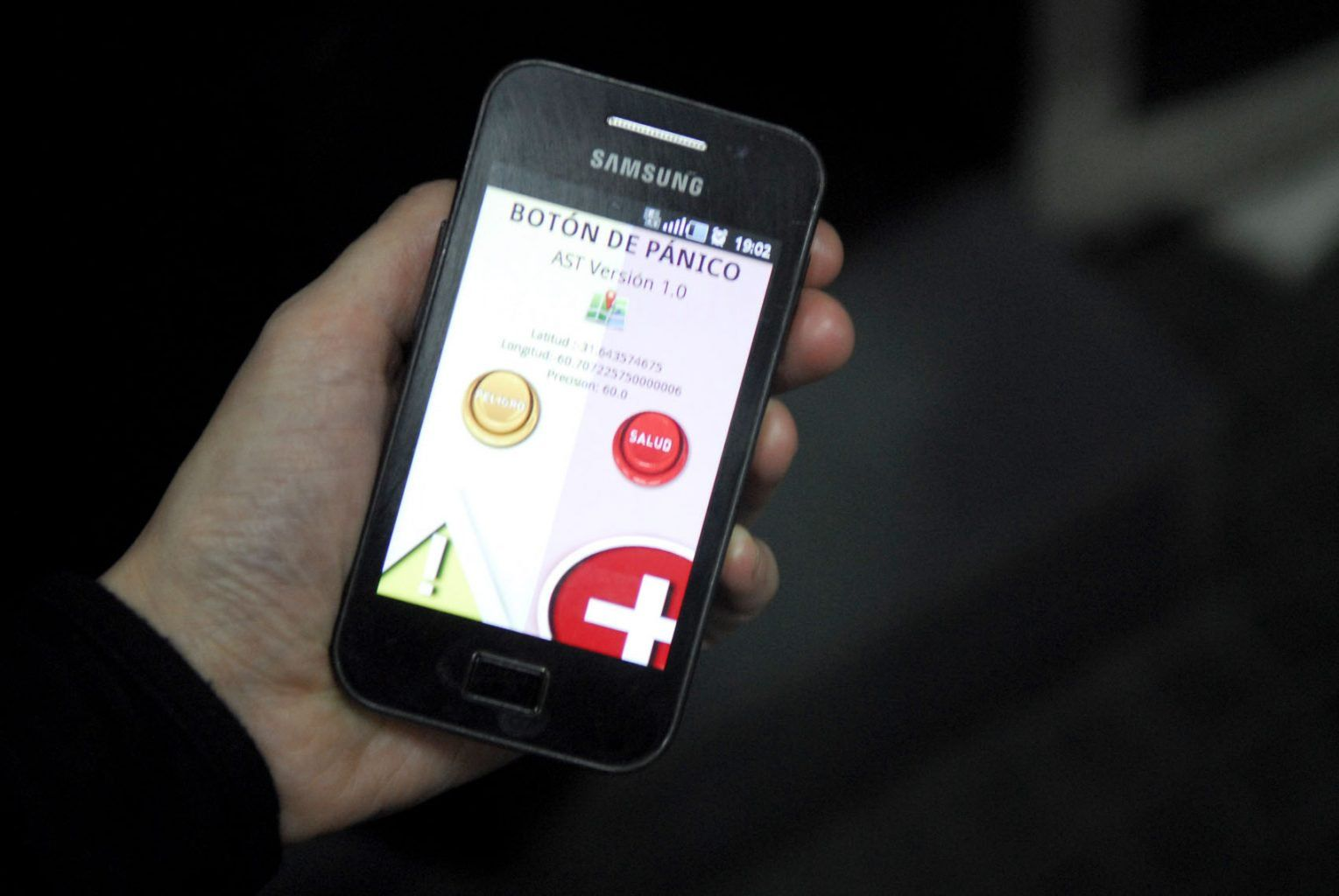Boton de panico aplicacion celular