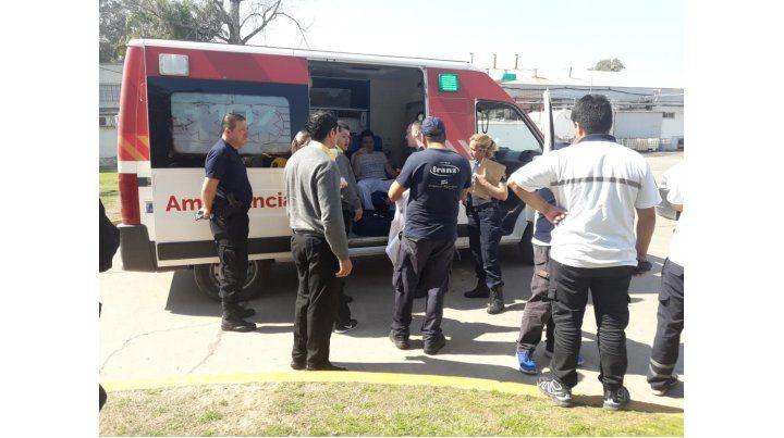Dos operarios heridos al explotar una caldera de una láctea en Recreo