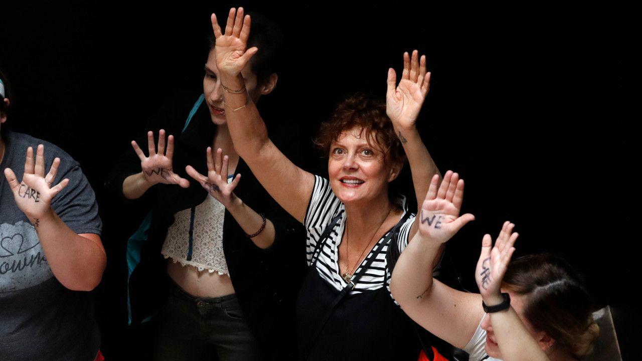 La actriz Susan Sarandon pidió que se legalice el aborto en Argentina