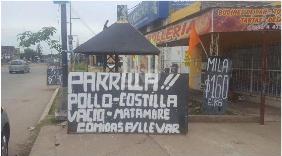 La ex parrilla de Horacio Borda, estaba ubicada en avenida Blas Parera al 9.300, donde en una pelea entre punteros políticos recibió un golpe de muerte.