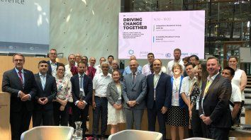 El intendente José Corral participa del Congreso de Ciudades Resilientes 2019, que se desarrolla en la ciudad alemana de Bonn