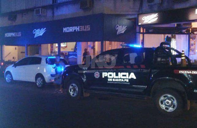 El bar ubicado en Bulevar y 4 de enero ónde sucedió el hecho.