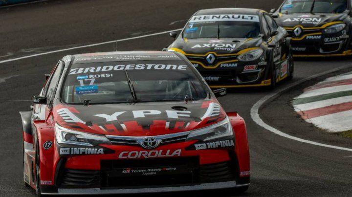 Gran triunfo de Rossi en Paraná