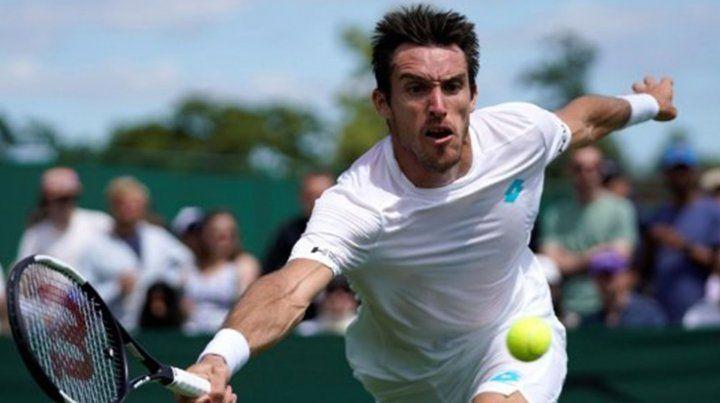 Mayer arrancó con un triunfo su participación en Wimbledon