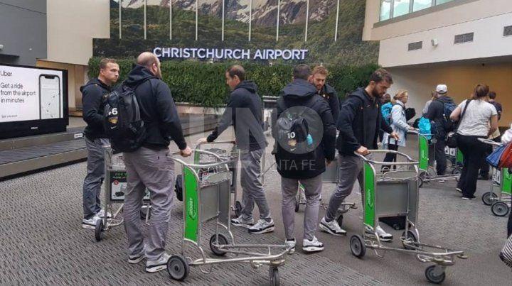 Jaguares arribó a Christchurch