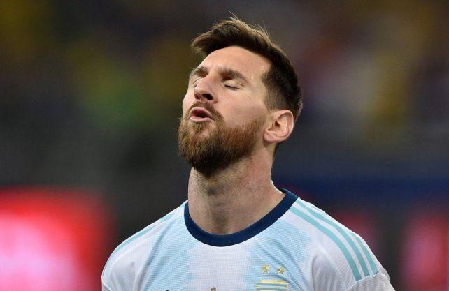 Messi recordó al Tata Brown con un sentido mensaje