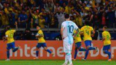 asi quedo el historial entre argentina y brasil