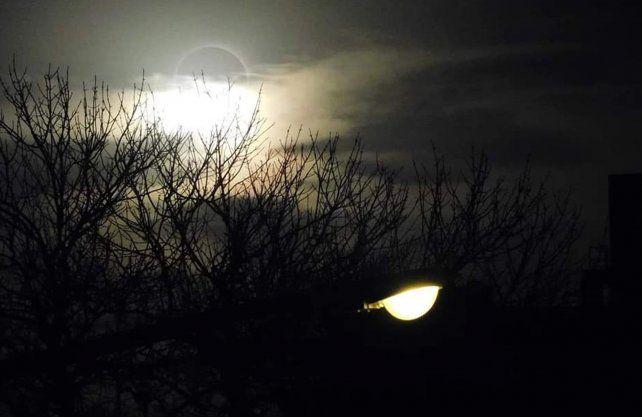 Imagenes del eclipse del 2 de julio.