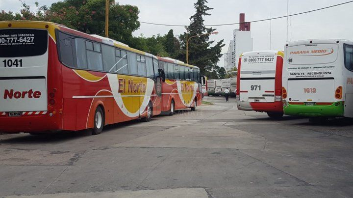 Paro. Servicios que conectan ciudades en la provincia se verán afectados por la medida.