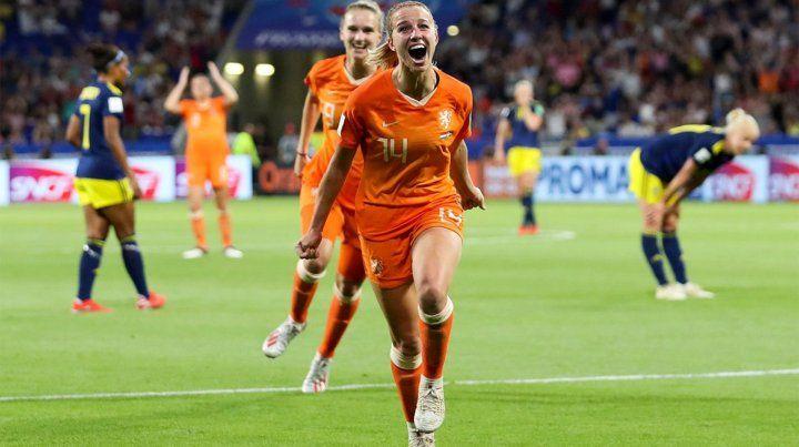 Holanda superó a Suecia y jugará la final del Mundial
