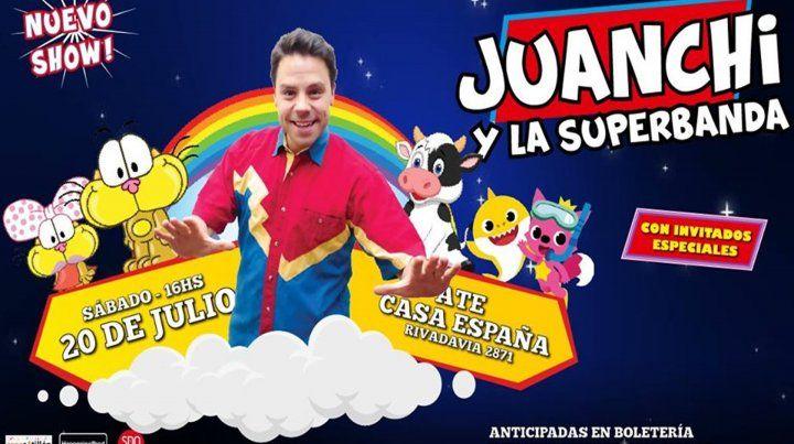Juanchi y la Superbanda.