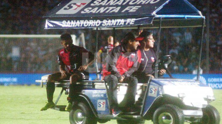 Colón confirmó la lesión que sufrió Gabriel Esparza