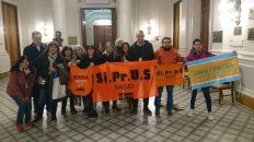 Profesionales nucleados en Siprus siguieron las sesiones de Diputados y el Senado donde se aprobó la ley.