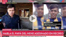 Julio Román. El papá de Diego Román, de 12 años.