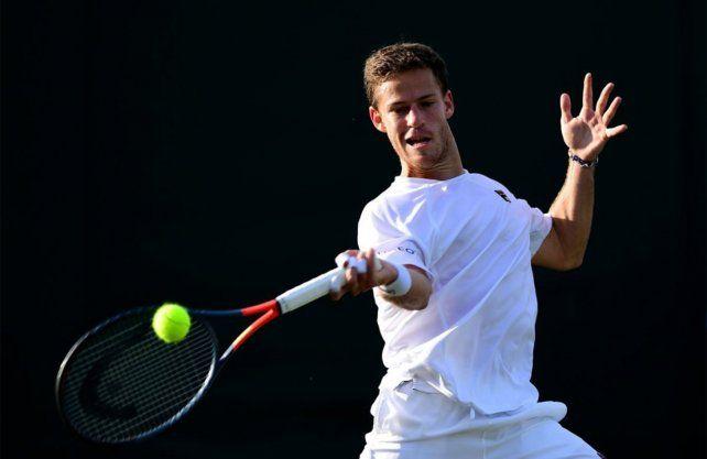 Schwartzman no fue eficaz y se despidió de Wimbledon