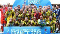 suecia se subio al podio del mundial femenino