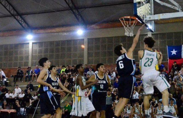 La Sub 14 venció a Brasil y se coronó campeón sudamericano en Goiania