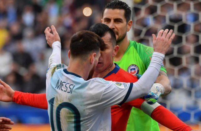 ¿Qué dice el informe de la expulsión de Leo Messi?