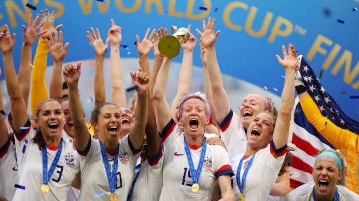 Estados Unidos agigantó su leyenda y logró su cuarto Mundial femenino