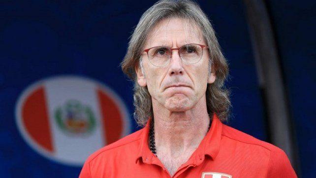 Ricardo Gareca le bajó el pulgar a la Selección Argentina