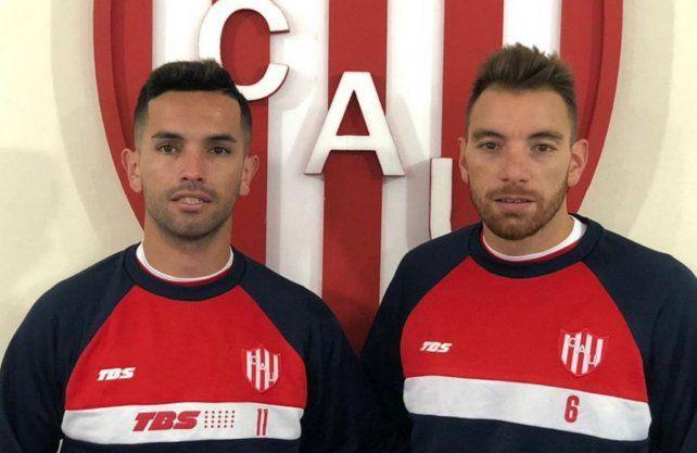 Bottinelli y Carabajal ya trabajan junto al plantel tatengue