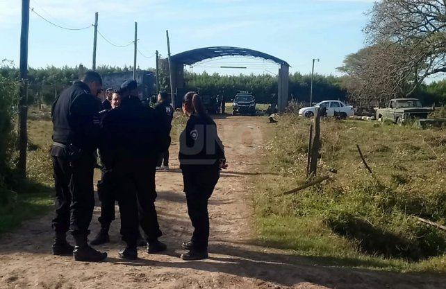 Allanamientos en Recreo por el crimen de Diego Román.