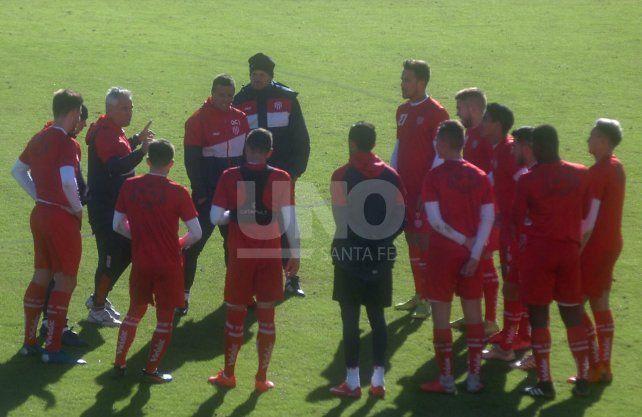 Unión se prepara para un amistoso de fuste ante Rosario Central