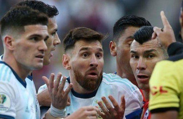 La dura sanción que Conmebol analiza aplicarle a Leo Messi