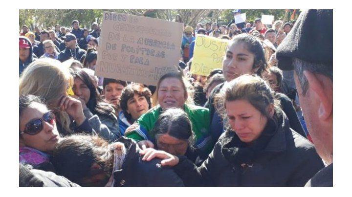 Marcha. Una multitud reclamó por el esclarecimiento del hecho