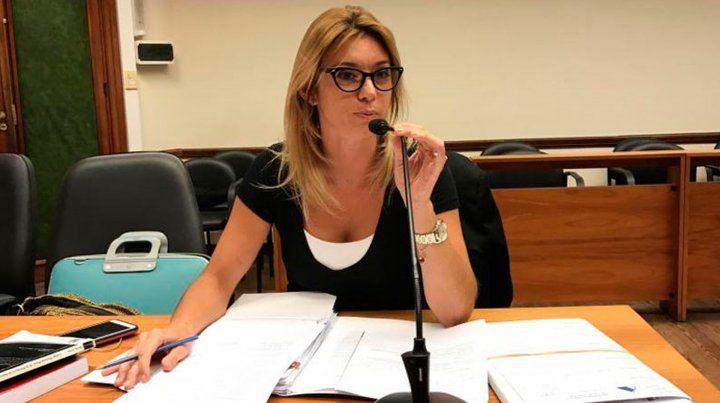 La fiscal María Laura Martí.