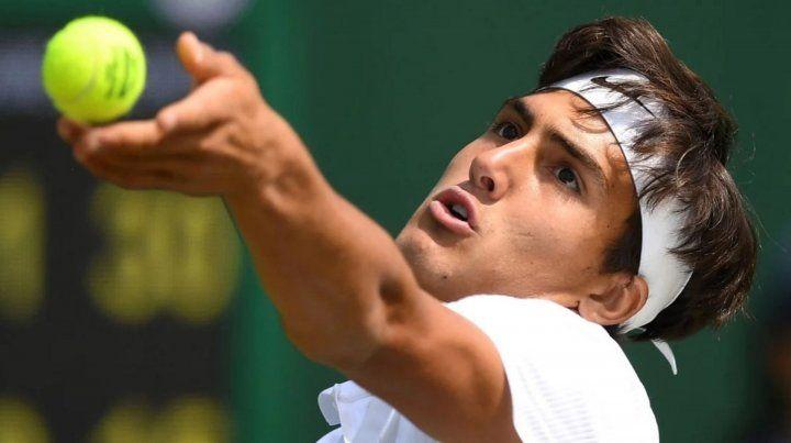 Burruchaga junior se quedó afuera de Wimbledon