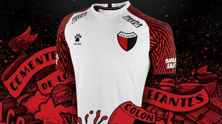 Colón estrenará camiseta para jugar frente a Argentinos