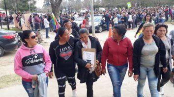 La familia de Diego Román y su pedido de justicia.