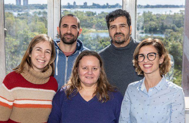 Los científicos que llevaron a cabo el proyecto.
