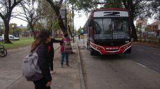 Transporte Urbano. Uno de los servicios que se verá afectado por el paro de este viernes