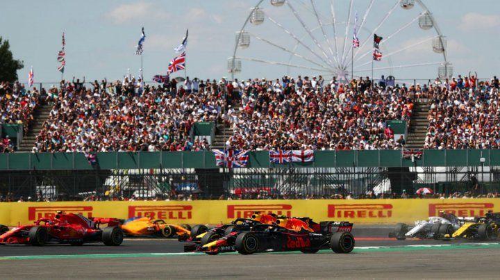 Silverstone se prepara para recibir a la fiesta de la Fórmula 1