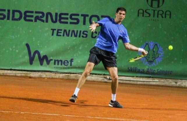 Delbonis se metió en los cuartos de final del Challenger de Perugia