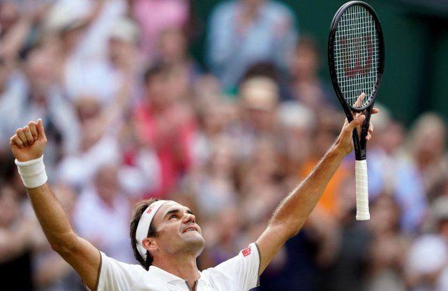 Wimbledon: Federer batió a Nadal y jugará la final ante Djokovic